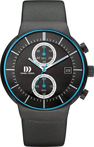 Danish Designs DZ120501 - Orologio da polso, Uomo, Pelle, colore: Nero