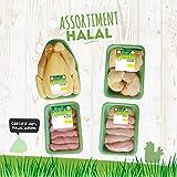 Royal Bernard - Assortiment Halal - Colis de Volaille Régionale Halal - 4 barquettes de produits différents...