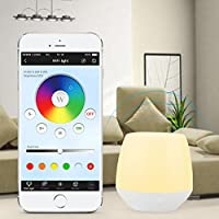 LIGHTEU, 2W RGB luce Wireless 2.4G originale Mi-Light WiFi iBox Smart Light Compatibile con iOS (Illuminazione Della Pista)