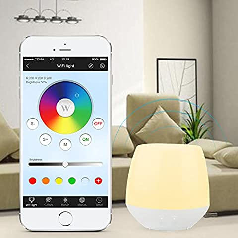 LIGHTEU, 2W RGB Licht Wireless 2.4G original Mi-Light WiFi iBox Smart Light Kompatibel mit IOS (Illuminazione Della Pista)