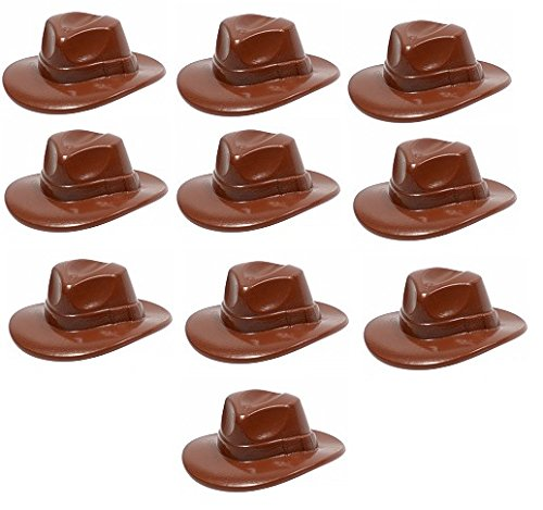 10 seltene Hüte - Kopfbedeckungen - Fedora - Cowboy Hut (Kunststoff-fedora-hüte)