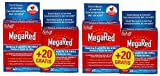 Megared Omega 3, 500mg, 60capsulas.Pack 2Un.