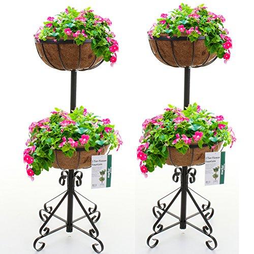 marko-gardening-2-or-3-tier-flower-fountain-with-coco-liners-black-metal-garden-patio-planter-2-2-ti
