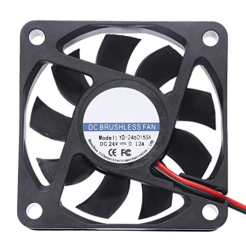 YouN Unterbrechen yd-246015SW DC 24V Kühler Fan 60X 60mm 9Klingen Computer PC Lüfter