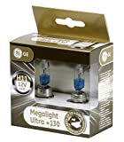 GE Megalight Ultra H11 +130% Light Car Headlight Bulbs (Twin) 53110XNU