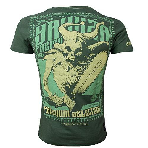 Yakuza Premium Herren T-Shirt 2612 Olive