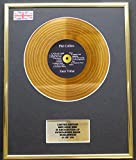 Everythingcollectible Phil Collins/Mini Gold Disc Display/ÉDITION LIMITÉE/COA / Face Value