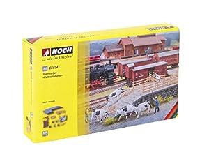 NOCH 65614 - Juego de ambientador con diseño de Cattle Transport, Color Negro