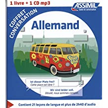 Coffret conversation allemand (guide +CD)
