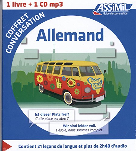 Allemand : Coffret conversation (1CD audio MP3)