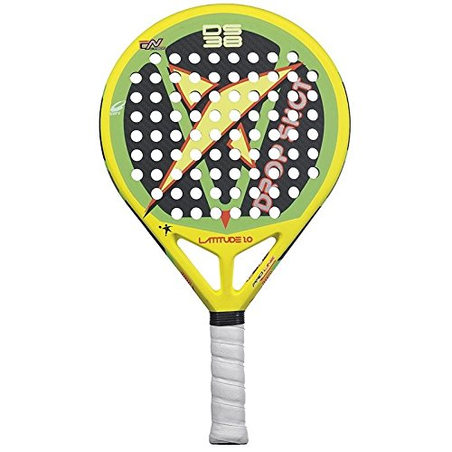 DROP SHOT Handpaddles Pala Latitude 1.0 2015 one Size Multicolore - Yellow/Green/Black