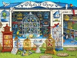 Flights of Fancy Little Shoppes 750 Piece Puzzle