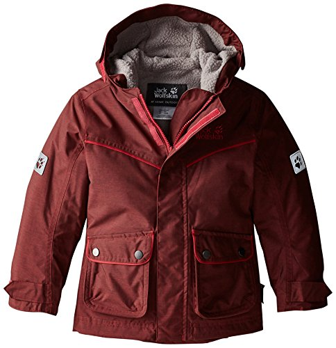 Jack Wolfskin GIRLS Nova Scotia Texapore Jacke Wärme, Kind, Pale Berry