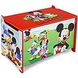 Delta Kids - Caja de juguetes de madera (62,2 x 39,3 x 33,7 cm)