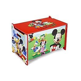 Disney – Scatola Per Giocattoli In Legno Mickey Mouse