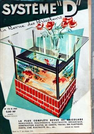 SYSTEME D [No 176] du 01/08/1960