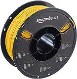 AmazonBasics - PLA 3D-Drucker Filament, 1,75 mm, Gelb, 1 kg Spule
