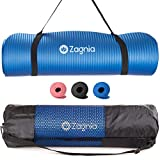 Zagnia Non Slip Yoga Mat, Pilates Mat and Gym Mat for Workout. FREE