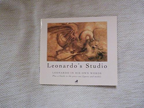 Leonardo's Studio: A Portfolio of His Life, His Work, His Words and a Pop-Up Studio: A Pop-up Portfolio Leonardo-portfolio