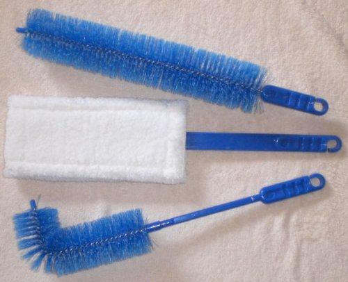 3er Set Heizkörper Reiniger aus Mikrofaser, Heizkörperbürste