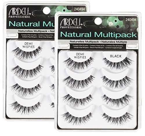 Ardell Lash Applikator (ARDELL Professional Natural Multipack Demi Wispies Black by Ardell)