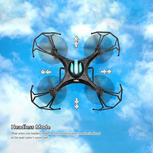 EACHINE H8C Quadcopter Drone with 2MP HD Camera Droni Radiocomandati Quadricottero Con Telecamera RTF Modalità 2(Nero)