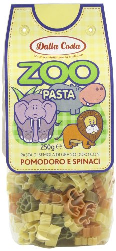 Zoo Pasta - Nudeln in Tierformen (6er Pack)