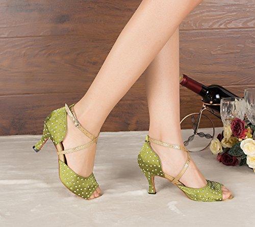 Miyoopark , Salle de bal femme Green-7.5cm heel