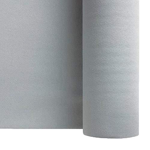Thouy Nappe en intissé Soft Gris Cendre en Rouleau 1,20 x 50 m