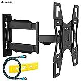 Invision® Ultra Schlank TV Wandhalterung mit 20 Zoll Freitragender Arm