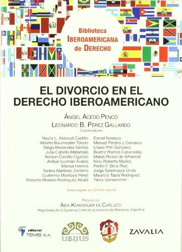 El divorcio en el derecho iberoamericano (Biblioteca Iberoamericana de Derecho)