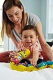 """Lamaze Babyspielzeug mit Musik """"Musik-Wurm"""" mehrfarbig – hochwertiges Kleinkindspielzeug – fördert den Tastsinn und das Hörvermögen Ihres Kindes – ab 0 Monate - 3"""