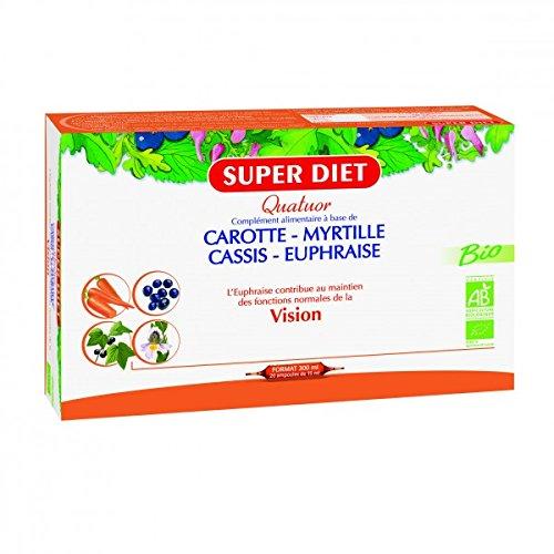 Super Diet Quatuor Bio Vision 20 Ampoules