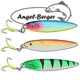 Angel Berger Pilker Set Meerespilker verschiedene Gewichte (60g)