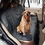 AodoorAuto-Abdeckung für Hunde, autoschondecke für hunde, hundedecke fürs auto, auto hundedecke Hochwertiges Material Schützt Ihre Autositze vor Schmutz und Tierhaaren Schwarz