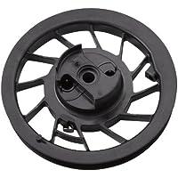 & Briggs Stratton 498144-Puleggia con molla a spirale per motori Quantum, 5 HP orizzontale e 6 HP 992238 motori per giardinaggio, forniture,