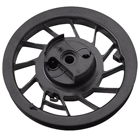 Briggs & Stratton 498144 Recoil Pulley with Spring for Quantum Engines, 5 HP Horizontal and 6 HP Intek Engines Garden, Lawn, Supply,
