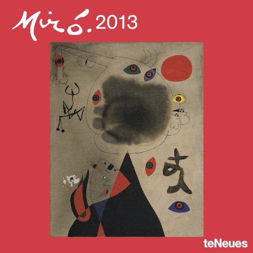 2013 Joan Miro Grid Calendar