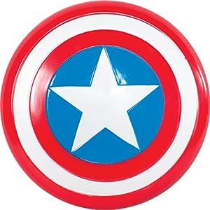Avengers - Escudo de Capitán América para niño, Talla única infantil (Rubie