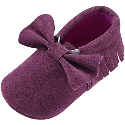 Mocassins Bebê Sapo Fogo, Sapatos Meninas Walker Roxo
