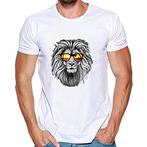 Uomogo t-shirt da uomo shirts camicie camicia polo animale camicetta eleganti vintage cappotto maglione giacca felpe hoodie pullover uomini stampa tee shirt nero manica corta m~3xl modale