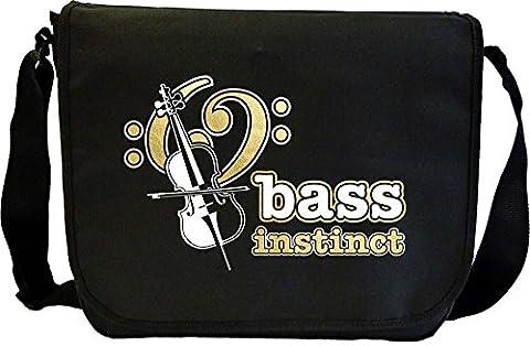 Cello BASS Instinct - Sheet Music Document Bag Sacoche de Musique MusicaliTee