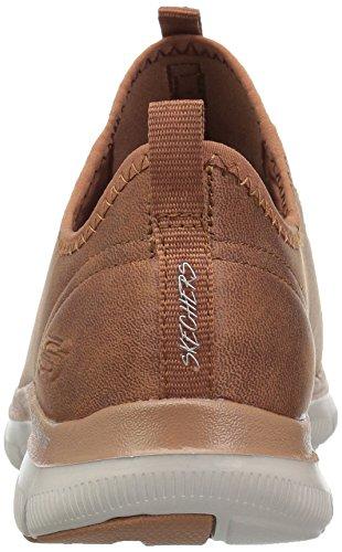 Skechers 12624 Chaussure De Gymnastique Pour Femmes Chestnut