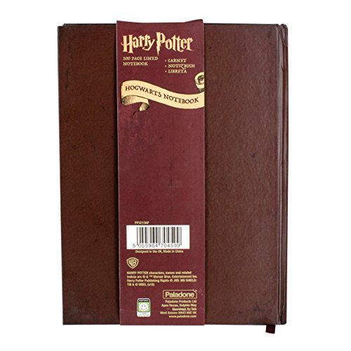 Image of Harry Potter Paladone Hogwarts Themed Notebook