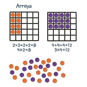 Learning Resources- Set de cuadrículas Gigantes para demostración, Color (LER6648)