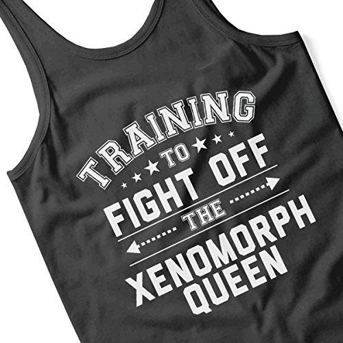 Training To Fight The Xenomorph Queen Alien Men's Vest Black