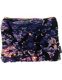 479234d6bc Trousse Astuccio Portatrucchi Magic Sequin Velvet Pink Purple Gira e brilla