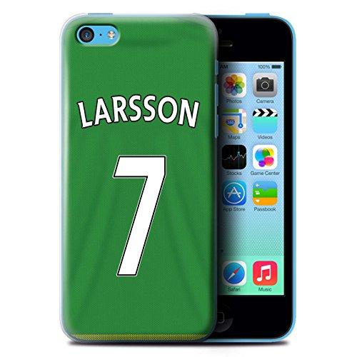 Officiel Sunderland AFC Coque / Etui pour Apple iPhone 5C / Pack 24pcs Design / SAFC Maillot Extérieur 15/16 Collection Larsson