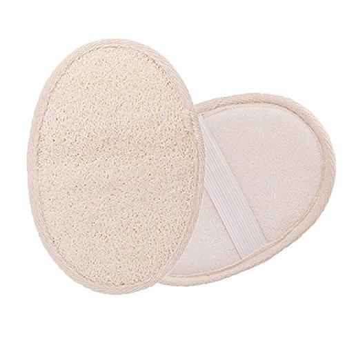 Luffa Handschuhe, Luffaschwamm Peeling-Handschuh für Körperpeeling, Massage, Peeling