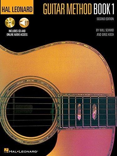 Hal Leonard Guitar Method Book 1: Book/CD Pack 2nd edition by Schmid, Will, Koch, Greg (1995) Paperback